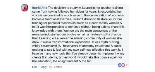 Ingrid Aria Review