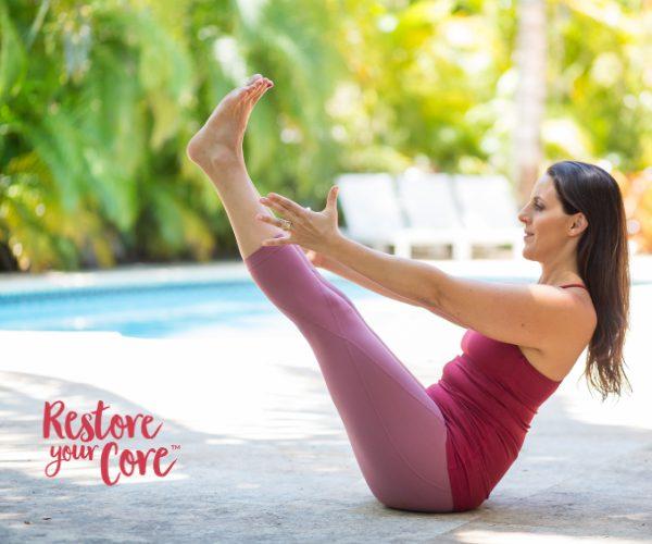 Pelvic floor exercise for prolapse healing